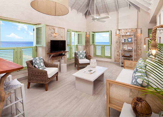 Two-Bedroom Oceanfront - Fort Suite